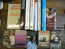 Lot de 13 livres de Janine Boissard Charlotte et Millie Marie-Tempête .....