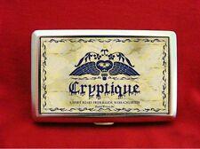 CRYPTIQUE OUIJA BOARD TOMBSTONE CIGARETTE ID IPOD CASE