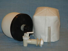 "2 - Emergency Water Filters - Silver Impregnated ceramic 4""x4"" dome filters"