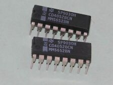 MCI4052B IC chip Differential 4-Channel Analog Mux/Demux ** Lot of 5 IC Chips **