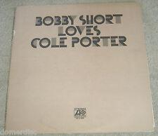 Bobby Short Sings Cole Porter 2 LP Set Atlantic  Inner Sleeves Gatefold 1971