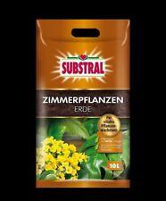 Substral Zimmerpflanzenerde 10 L mit Dünger Blumenerde Grünpflanzen Palmen Torf