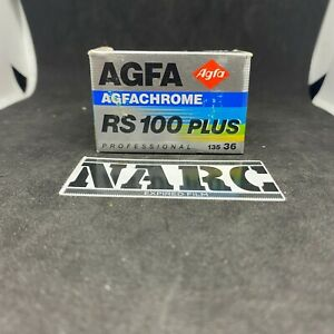 Agfa RS 100 Plus 35mm slide  expired film