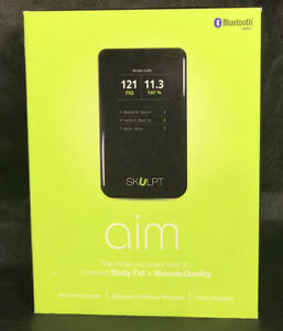 Skulpt AIM Body Fat Muscle Tracker Day One Edition Complete Pre-owned