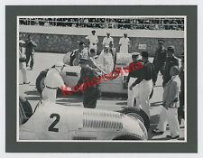 Start Grand Prix Tripolis Silberpfeile Mercedes-Benz Mechaniker AUTO UNION 1937