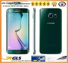 TELEFONO SAMSUNG GALAXY S6 EDGE SM-G925F 32GB VERDE PERFETTO STATO GRADO A