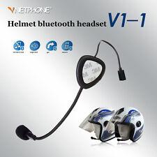 Kabellos Bluetooth Motorcycle Motorrad Headset Sprechanlage Hände frei Kopfhörer