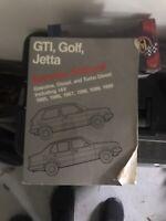 1985-1992 1990 1991 VW GTI Golf Jetta Shop Service Repair Manual Bentley Manual