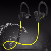 BLUETOOTH 4.1 AURICOLARI SPORT SENZA FILI CUFFIE WIRELESS CELLULARE PER IPHONE