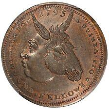 1795 Britain Middlesex Spence's Odd Fellows Conder Token D&H-734 PCGS MS 63 BN