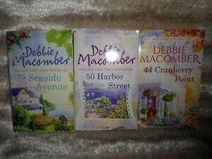 Bundle of 3 Debbie Macomber Cedar Cove Books - Cranberry/Seaside/Harbor