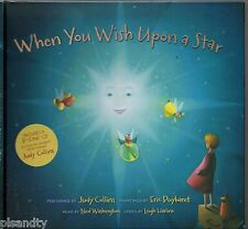 WHEN YOU WISH UPON A STAR Leigh Harline Including 3-Song CD By JUDY COLLINS