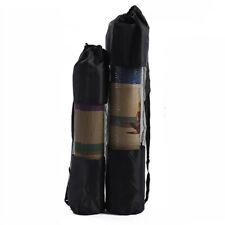 Yoga Mat Bag Portable Gym Carry Bag Nylon Carrier Washable Adjustable Strap KS