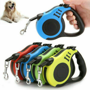 Retractable Dog Lead Tape Extendable Leash 3M/5M Pet Puppy Training Walking Rope