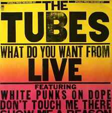 THE TUBES - What Do You Want From Live (LP) (VG-/VG)
