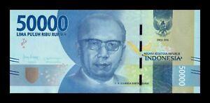 B-D-M Indonesia 50000 Rupiah 2016 (2020) Pick 159 New SC UNC