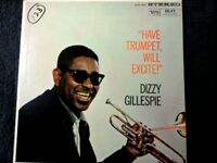 DIZZY GILLESPIE HAVE TRUMPET WILL EXCITE VINYL LP VERVE DG 1960 MS VS 68313