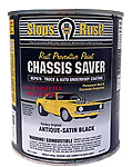 MAGNET PAINTS UCP970-16 CHASSIS SAVER PAINT SATIN BLACK (1/2 PINT) M-P UCP970-16