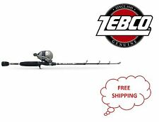 "Zebco 33 6Ft Telecast Combo 21-10364 With 3.6:1 gear ratio & 6'0"" Telescopic"