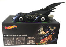 1:18 HOTWHEELS BATMOBIL 1995 BATMAN FOREVER BATMOBILE BLY43 Heritage