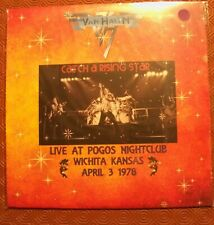 "VAN HALEN ""CATCH A RISING STAR LIVE AT POGOS "" COLOURED LP LIVE KANSAS 1978"