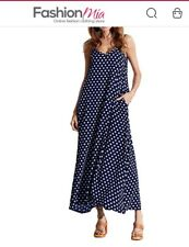 Fashion Mia Maxi Dress Polka Dots XXL