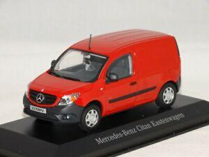 Mercedes Citan Fourgon Rouge 1/43 Minichamps