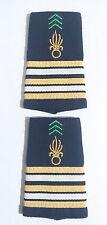 Fourreaux d'épaules Grades Galons pour LIEUTENANT-COLONEL  Légion Étrangère
