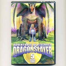 6 kids movies, new DVDs Adventures Teenage Dragonslayer Gulliver's Travels 7+hrs