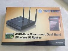 TRENDnet  TEW-692GR  Wireless N Router 450 Mbps Concurrent Dual-Band