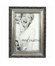Bilderrahmen Fotorahmen antik Silber 10x15cm