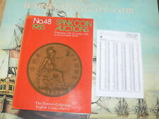 Spink Auction, London 048 1985-11 Norweb Collection English Coins- Part 2. + RP