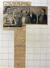 1949 Northampton Engineering College Clerkenwell Betty Forbes, Sonia Fynn,