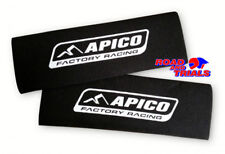 New Apico Neoprene Fork Guard Covers Protectors Black Trials Sherco Beta GasGas