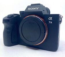 Sony a7 III 24.2 MP Mirrorless Digital Camera - Black (Body Only) Alpha 7 mk3