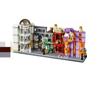 Diagon alley 75978 Hogwarts castle building blocks set