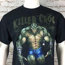 Killer Croc Black Men's T-Shirt Large Size L DC Comics New w Tags Batman Villan