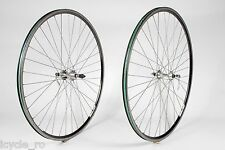 Campagnolo Moskva 80 Bicycle Wheelset With Ofmega Hubs 36H QR Clincher Tire Rare