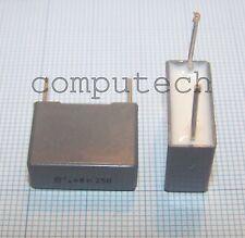 680nF 250V 10% Condensatore Poliestere Metallizzato Kemet Arcotronics 2 pezzi