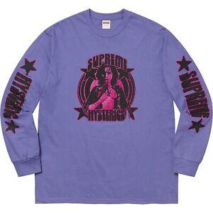 Supreme Hysteric Glamour Longsleeve Lila/Purple M