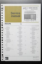 PHILIPS RADIO 50IC361 Original Service-Manual/Anleitung/Schaltplan! o35