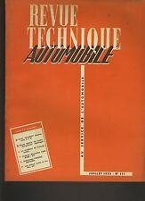 (C5)REVUE TECHNIQUE AUTOMOBILE PEUGEOT CAMIONNETTE D3A / BUICK V8