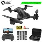 Holy Stone HS165 GPS FPV Drones with 2K FHD Camera Foldable Quadcopter Follow Me