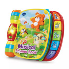 VTech Musical Rhymes Book - 5 colorful piano buttons play music