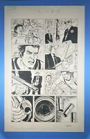 Daredevil vs. Punisher #6 page 3 Origin David Lapham Original Art Marvel Comics