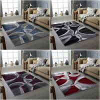 New Modern Rugs Swing Wave Pattern Small Extra Large Bedroom Living Room Rug