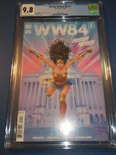 Wonder Woman WW84 Museum Mayhem CGC 9.8 NM/M Gorgeous Gem Wow