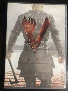 Vikings Complete Third Season Series 3 TV Show DVD Set Travis Fimmel Action