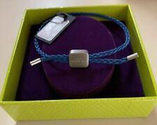 TED BAKER WOVEN CORD BRACELET BLUE