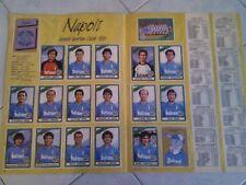 POSTER NAPOLI 1987-88 - COPIA ANASTATICA DELLA SQUADRA DEL NAPOLI 1987-88 NUOVA